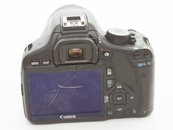 Canon EOS Rebel T2i LCD Screen Replacement