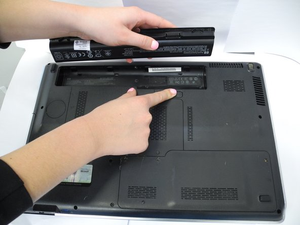 HP Pavilion dv7-3065dx Battery Replacement