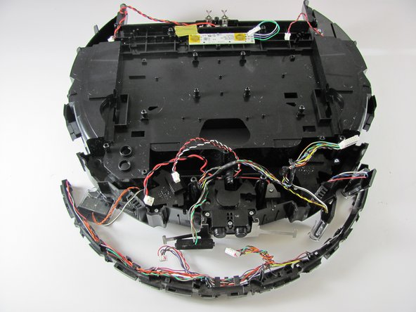 Here are two pictures that should show what your Roomba fully disassembled looks like