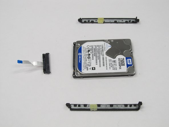 HP Pavilion 17-f004dx Hard Drive Replacement