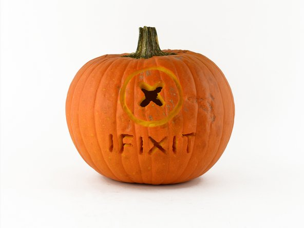 iFixit scary repair pumpkin carving