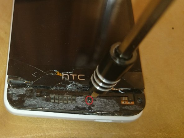 Use your T6 Torx screwdriver to remove the single screw that holds the body to the aluminium back