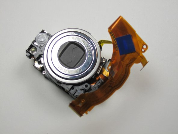 Canon Powershot SD550 Zoom Lens Assembly Replacement