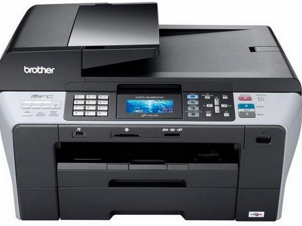 Brother MFC 6490CW Wireless All In One Inkjet Printer