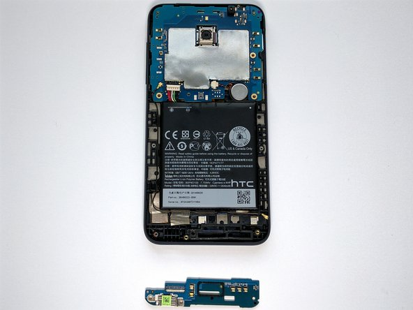 Daughterboard is off. Get new daughterboard and reverse steps.