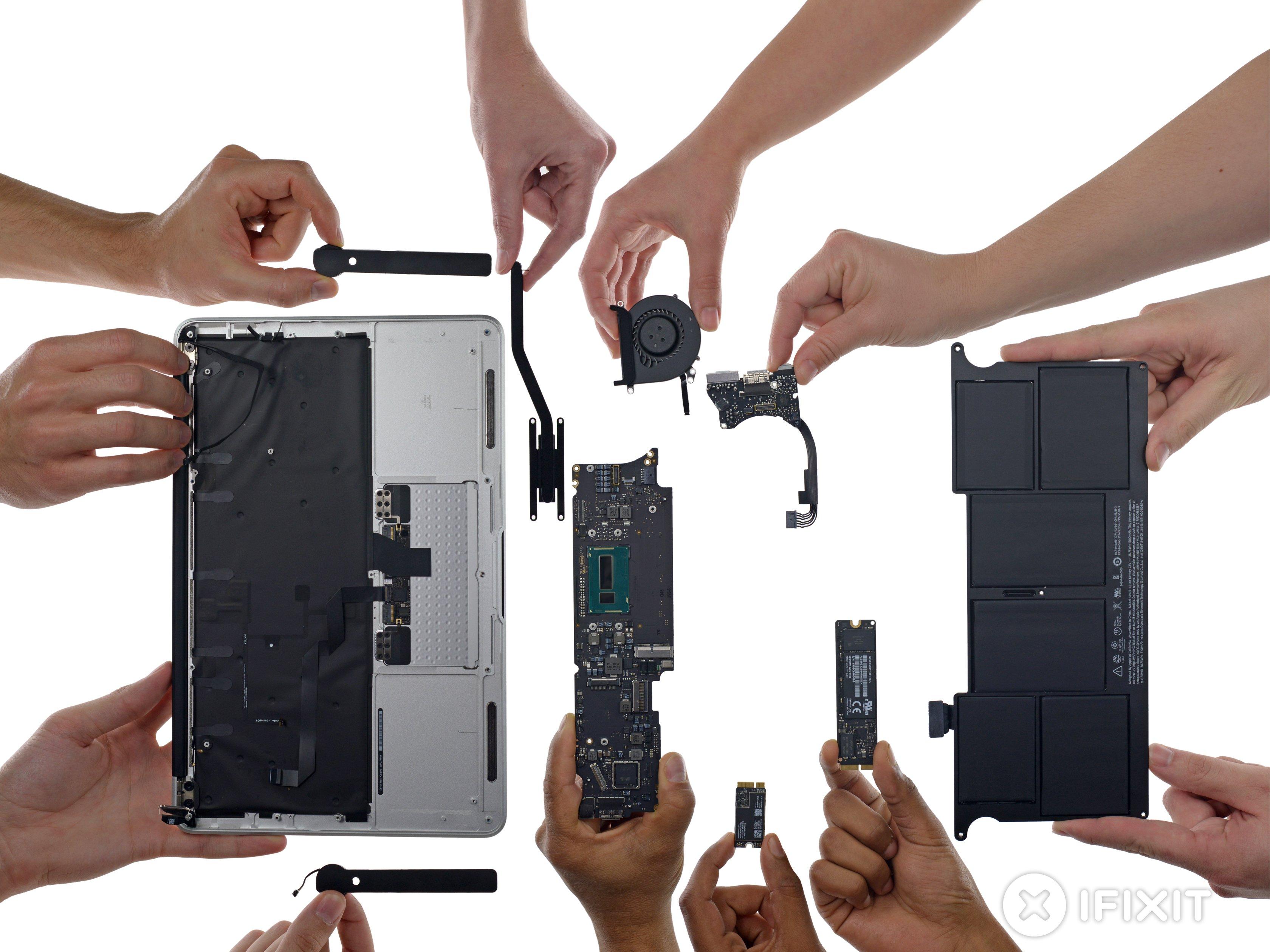 no sound output device macbook air