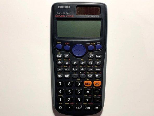 CASIO fx-300ES Plus Scientific Calculator Battery Replacement