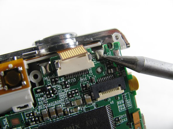 Image 2/2: Be careful to not damage any part of the circuit board with the soldering iron.