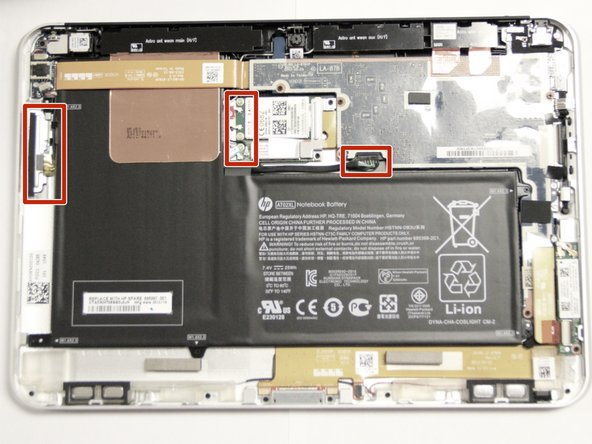 hp elitepad 900 battery replacement ifixit. Black Bedroom Furniture Sets. Home Design Ideas