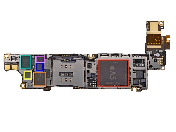 Image 1/2: Apple A5 Dual-core Processor (more on this later)