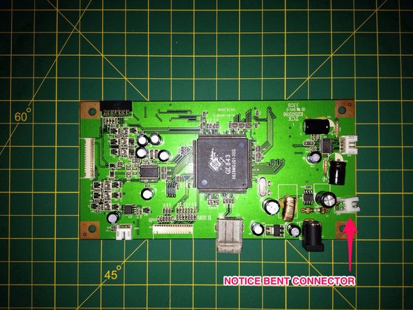 Carefully examine circuit board and all components, closely using good lighting and a magnifier.