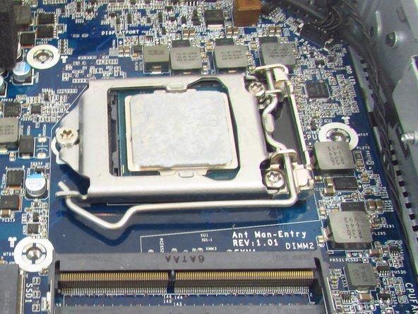 HP Z2 Mini G3 CPU Processor Replacement