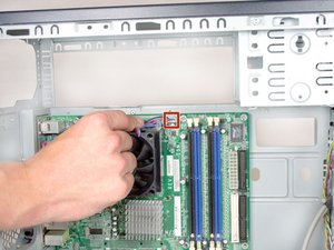 Removing HP Compaq dx2000MT CPU Cooler