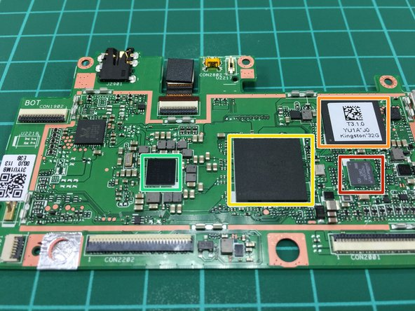 Image 3/3: Kingston eMMC 32GB NAND Flash