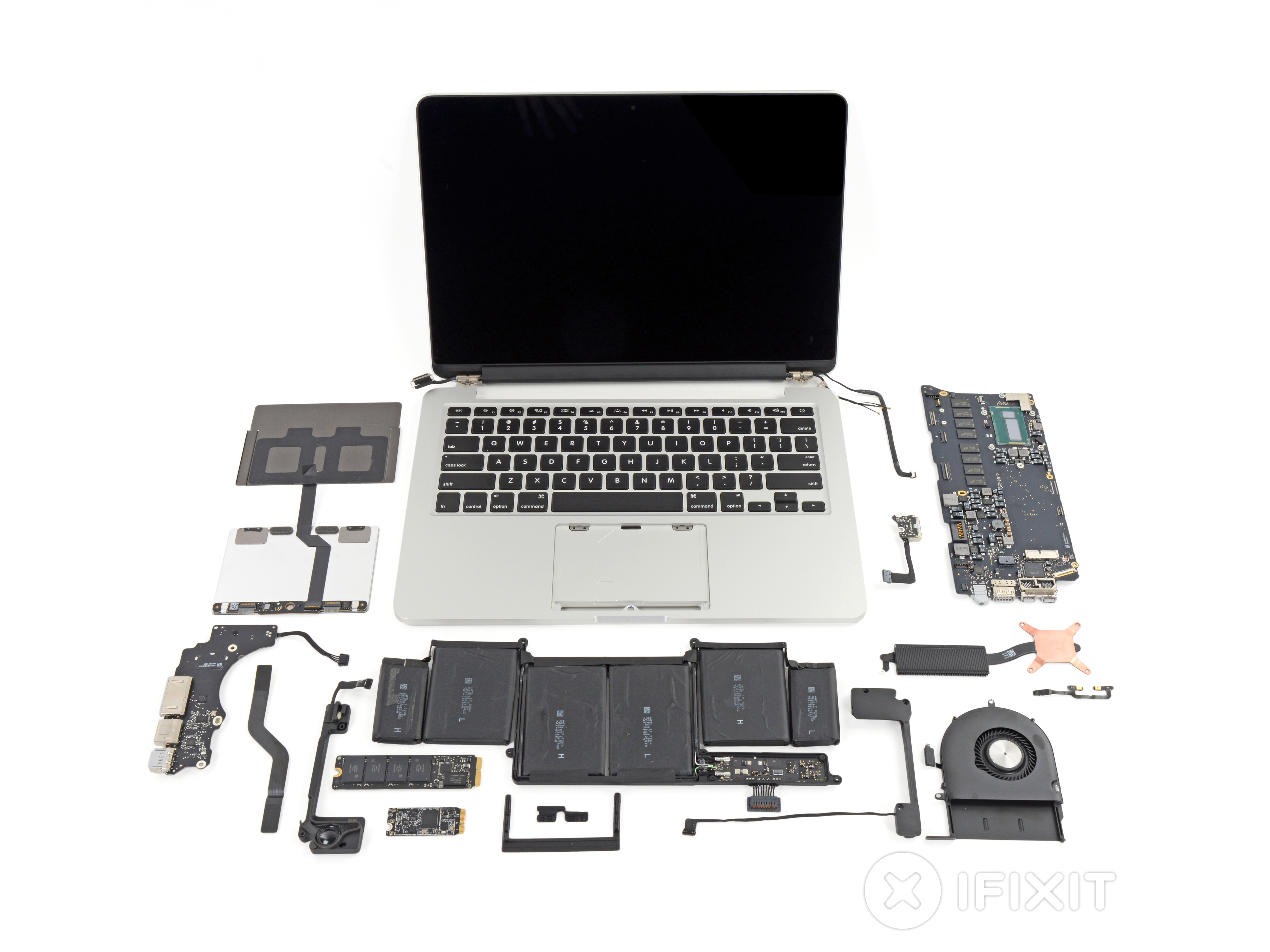 Macbook Pro 13 Retina Display Late 2013 Teardown Ifixit Add Ram To Your Laptop Easily