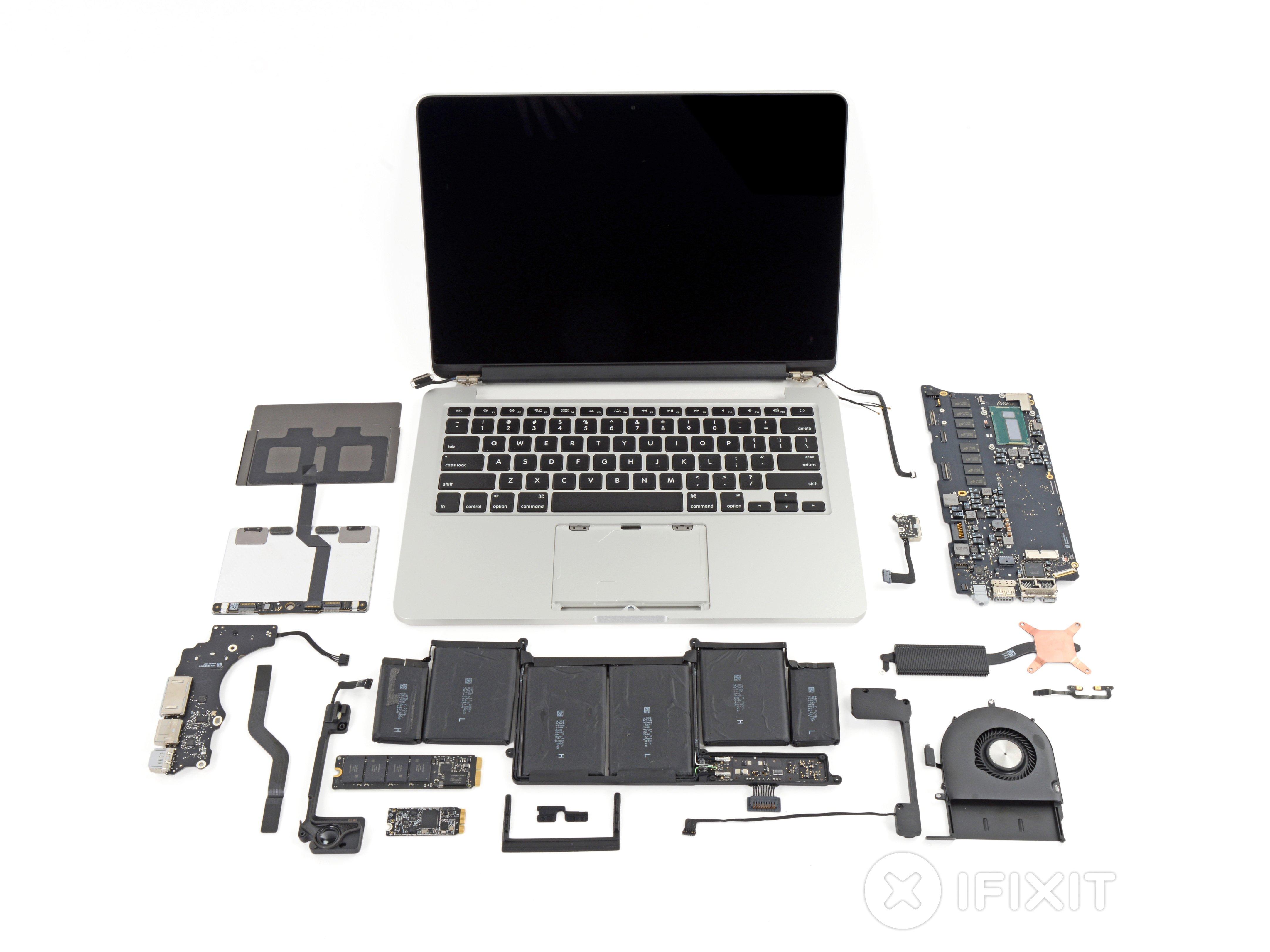 Macbook Pro 13 U0026quot  Retina Display Late 2013 Teardown
