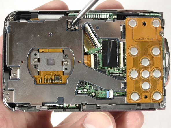 Nikon Coolpix S210 Circuit Board Cover Replacement