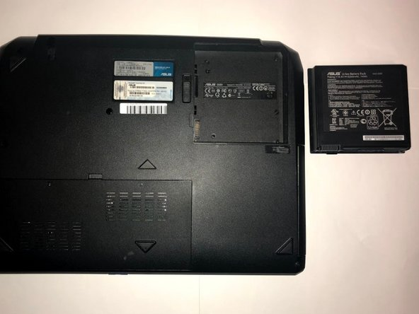Asus G55VW DS71 Battery Replacement