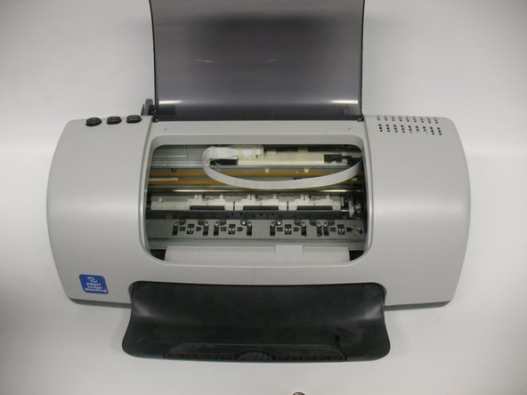 Your printer should now be in the same state as shown in the second picture.