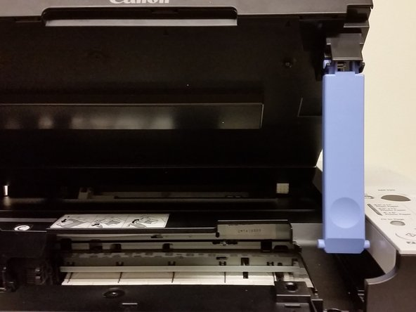 For safety ensure that the printer is powered off.