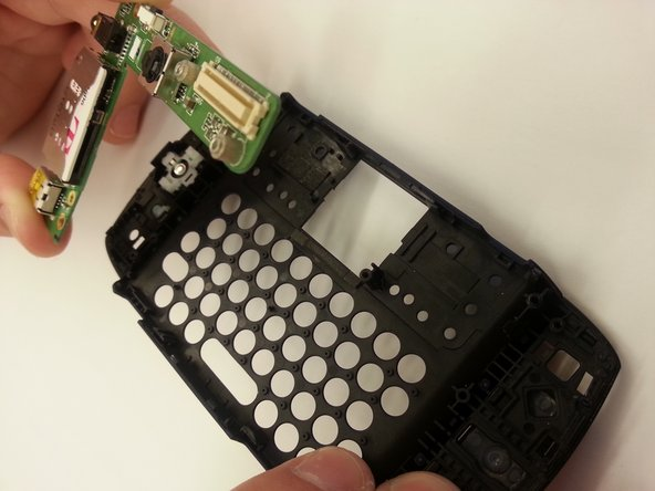 Unscrew the screws around the keypad and take apart slowly and gently using your hands