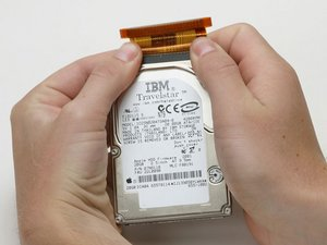 iBook G3 Clamshell Hard Drive Replacement