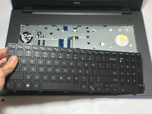 Dell Inspiron 17-5755 Keyboard Replacement