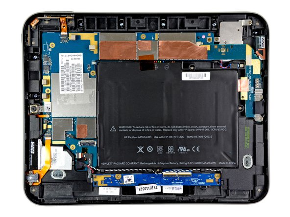 HP TouchPad Front Panel Assembly Replacement