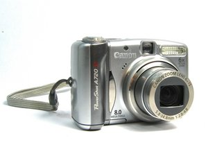 Canon PowerShot A720 IS Troubleshooting
