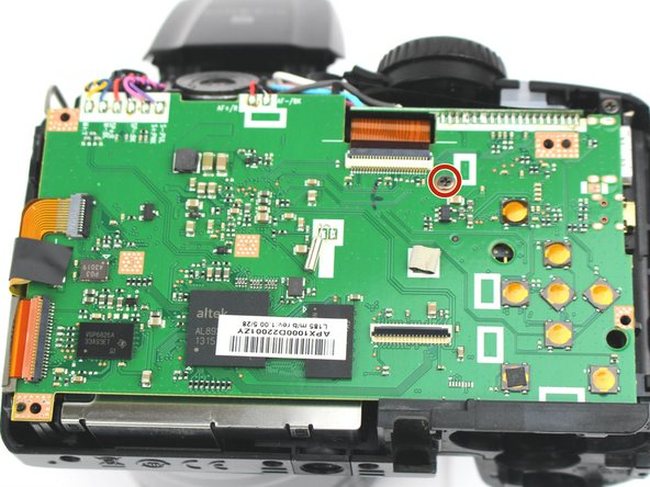 Fujifilm FinePix S4800 Motherboard Replacement