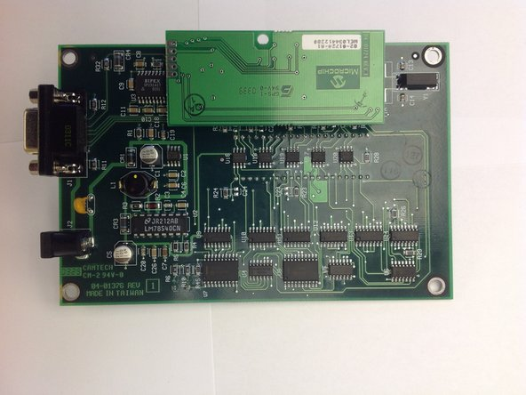 Carefully take out the circuit board with component side facing up. Put the case aside.