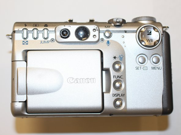 Canon PowerShot G3 Zoom Control Spring Replacement