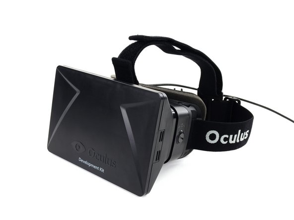 It isn't exactly a holodeck—rather the Oculus reminds of a cross between ski goggles and a tablet…