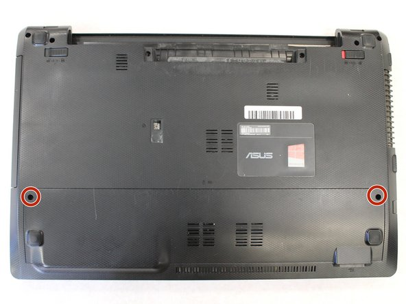Asus K55a-si50301p Lower Back Panel Replacement