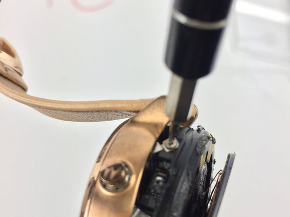 Carefully unscrew the two screw using the using the T3 Torx Screwdriver.