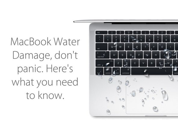 MacBook water damage diagnostic