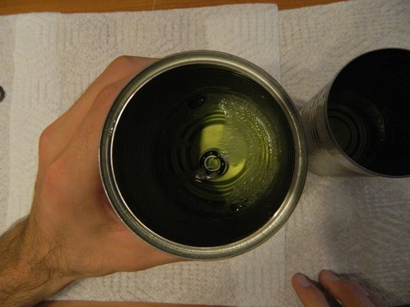 Submerge your bearing in the cleaning container for 15 - 20 seconds to allow  the solvent to soak into the bearing.