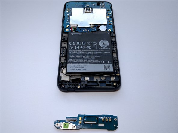 Image 3/3: Daughterboard is off. Get new daughterboard and reverse steps.
