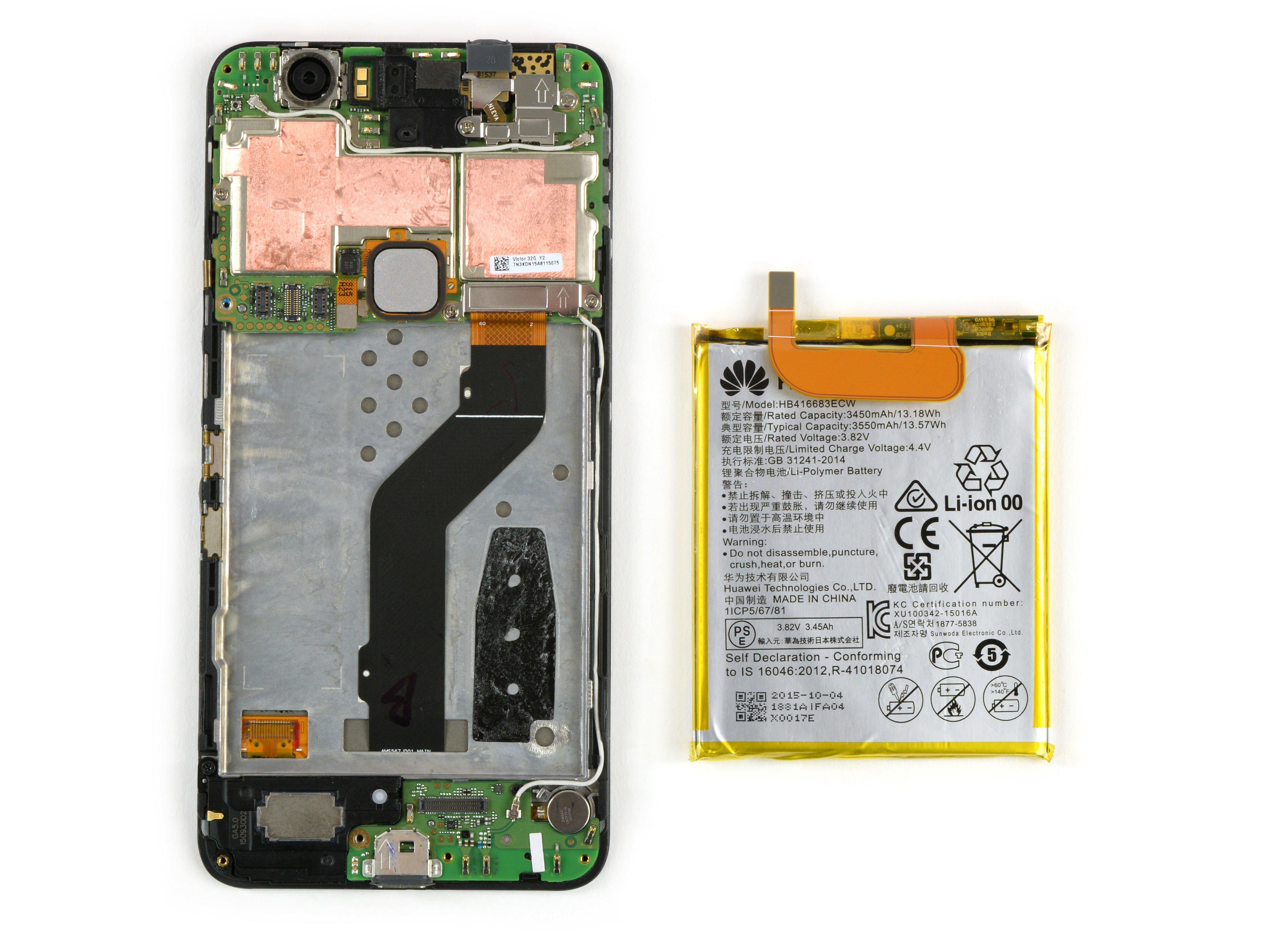 Nexus 6P Battery Replacement - iFixit Repair Guide