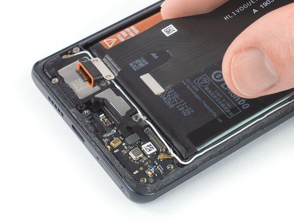 Remplacement du port de charge avec nappe principale du Huawei P30 Pro