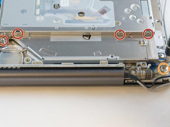 Six 2.4mm screws