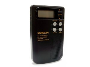 How to Sangean DT 200V radio