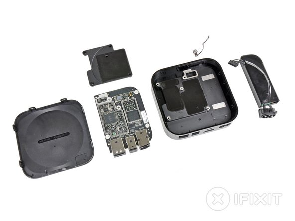 Apple TV Repairability: 8 out of 10 (10 is easiest to repair)
