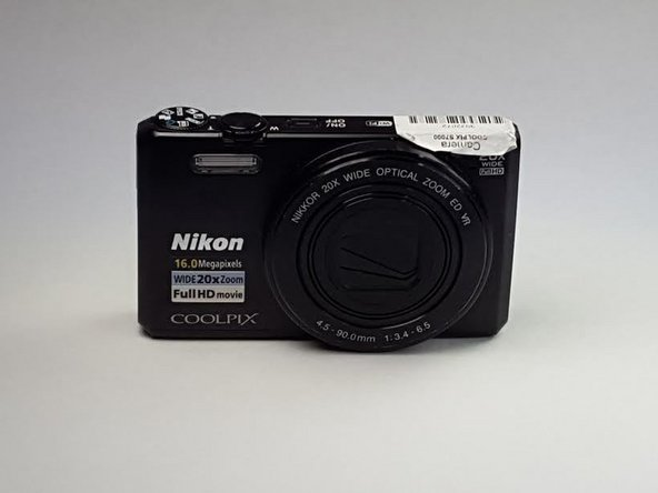 Nikon Coolpix S7000 Battery Replacement