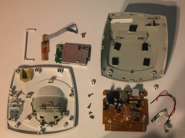 Secondary base station is assembled with only phillips screws.
