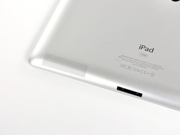 A new model number graces the iPad 2: A1395. Thank you, Apple! That's much nicer of you than the twenty-six billion iterations of MacBook Pros you called model A1286.