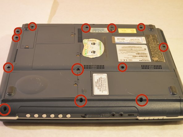 Image 1/1: The screws circled are not necessary to remove.