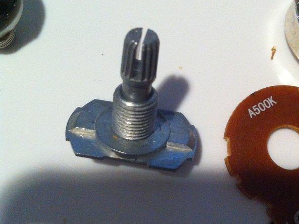 How to repair a broken potentiometer or pot - iFixit Repair
