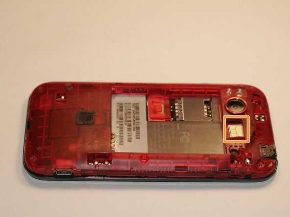 Take out SD card from slot above battery alcove.