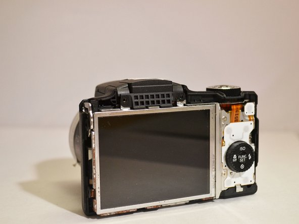 Canon Powershot SX500 IS LCD Screen Replacement